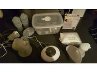 electric and manual breastpumps and accessories