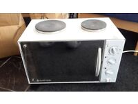 Russell Hobbs Mini Oven , 2 Heat Rings,