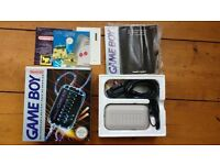Game Boy / gameboy rechargable battery pack (DMG-03) in original box