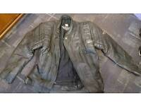 Akito leather jacket Two pairs of J&S pants