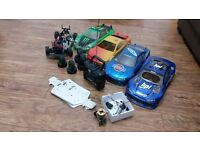 Nitro Rc Car Full Setup with Spares