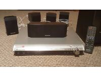 Panasonic surround sound with DVD player