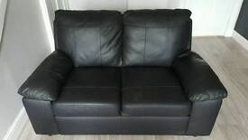 Two seater sofa x 2