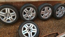 Genuine Volkswagon Golf Alloy Wheels - 15 Inch