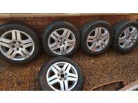 Genuine Volkswagon Golf Alloy Wheels - 15 Inch