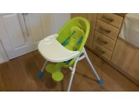 Very clean high chair (almost new)