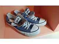 Converse - blue denim, size 5.5 - as new!