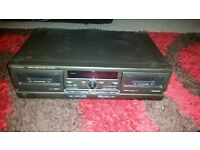 TECHNICS DOUBLE STEREO CASSETTE TAPE DECK DOLBY NR RS-TR373