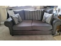 Pair of sofas 2+3 seater 4 month old vgc bargain