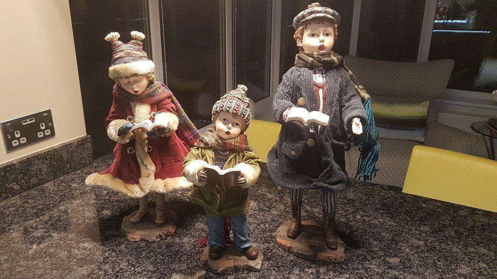 Christmas Carol Singers Figurines.Christmas Carol Singer Figurines In Larkhall South Lanarkshire Gumtree