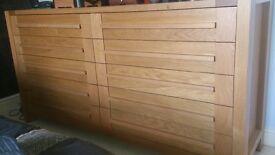 M&S Sonoma 10 drawer oak chest