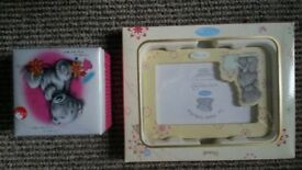 me to you frame and trinket box, brand new