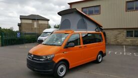 Volkswagen T6 by Wellhouse 2000cc, 84ps Manual 5 speed, New, 300 miles, Bright Orange