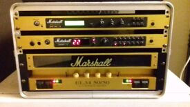 Marshall rack unit guitar amp