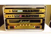 Marshall rack unit guitar amp
