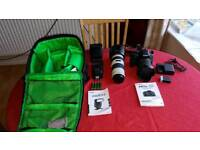 CANON EOS 750D CAMERA SET