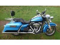 Harley davidson 1584 road king touring 2012