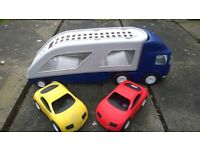 Little Tikes Large Car Transporter complete with 2 Cars