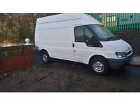 Man with van / courier deliverys/flat pack furniture assembly
