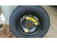 Ford Fiesta spare tyre 175/65r14