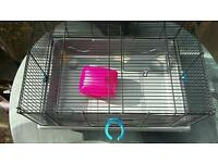 Hamster cage and house