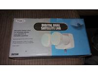 NEW ALL BOX Digital Satellite Twin Output LNB £15.00 ono