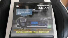 NEW! TTI TCB-771 Mobile CB Radio Multi-standard