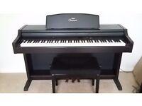 YAMAHA CLAVINOVA CLP 840 DIGITAL ELECTRIC PIANO