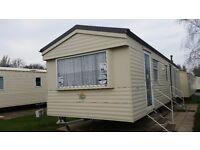 6 berth caravan to hire at Hopton holiday village
