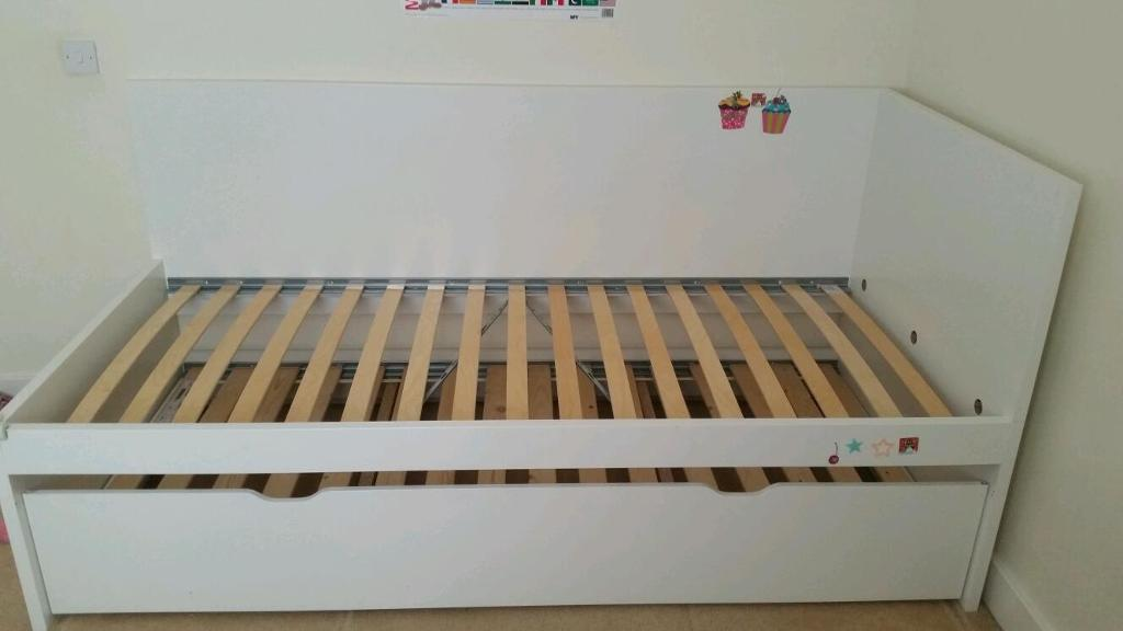 Ikea Flaxa bed frame with under bed | in Southampton, Hampshire | Gumtree