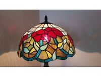 Tiffany style table lamps in excellent condition.