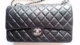 Chanel Double Flap | Black | Optional Trim | NEW