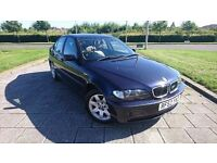 BMW 318I VERY NICE BROWN LEATHER INTERIOR M PACK AND ALLOYS LONG MOT TOWBAR