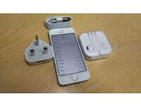 Apple iPhone 5s - 32GB - Silver (Unlocked) Smartphone Touch ID Faulty