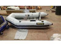 Xm240 rib inflatable tender boat
