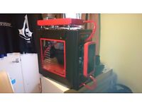 Highly Customized Extreme Water Cooled Gaming PC Part Built