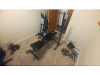 Bodymax Compact Folding Bench - Good Condition - Pick up only