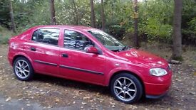 2000 VAUXHALL ASTRA FOR SALE GOOD MOT NO RUST ON CAR