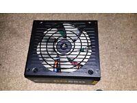 Leicester Corsair RM550 550Watt 80 PLUS GOLD Fully Modular Power Supply PSU 9/10 Condition