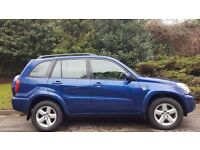 TOYOTA RAV4, 2004, 90K MILES, FSH, 1 YEAR MOT, HPI CLEAR, DRIVES MINT, VGC, DELIVERY AVAILABLE