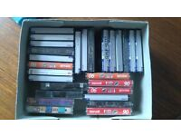27 Audio cassette tapes - used. FREE TO GOOD HOME!