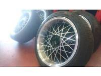 Lenso Eagle 2 wheels with tyres 5x100
