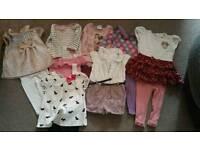 Girls clothes bundle 6/9 months