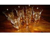 Moroccan tea glasses set