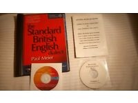 English Accent CD courses 2x - for Actors
