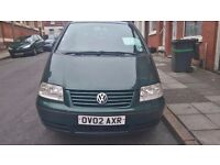 ** DARK GREEN VOLKSWAGEN SHARAN 2.0 TDI**