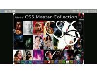 Adobe CS6 Master Collectio Mac/Pc OEM Edition