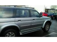 Shogun sport 3.0 V6 Bi fuel 4x4. Spares and repairs due to engine misfiring. Petrol and gas.