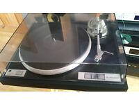 dual cs5000 audiophile turntable .