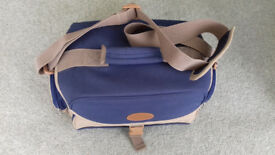 Camera Shoulder Bag Large, 4 Zipped Pockets, Inserts, holds Camera, Lenses, Accessories